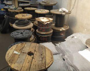 فروش انواع کابل مسی بدون روکش هوایی در فارس