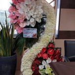 گلفروشی و گلسرای سیمین فروش انواع تاج گل ترحیم گل نمایشگاهی جشن و مراسم