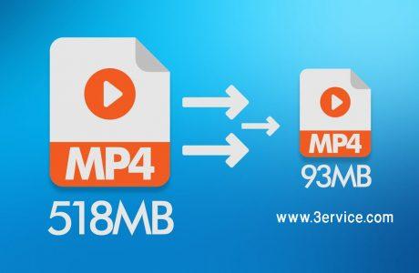 آموزش کاهش حجم ویدیو