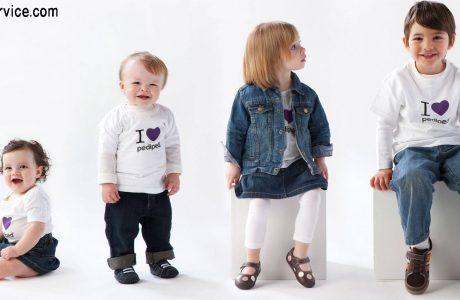 نوع لباس بچه گانه ضد حساسیت